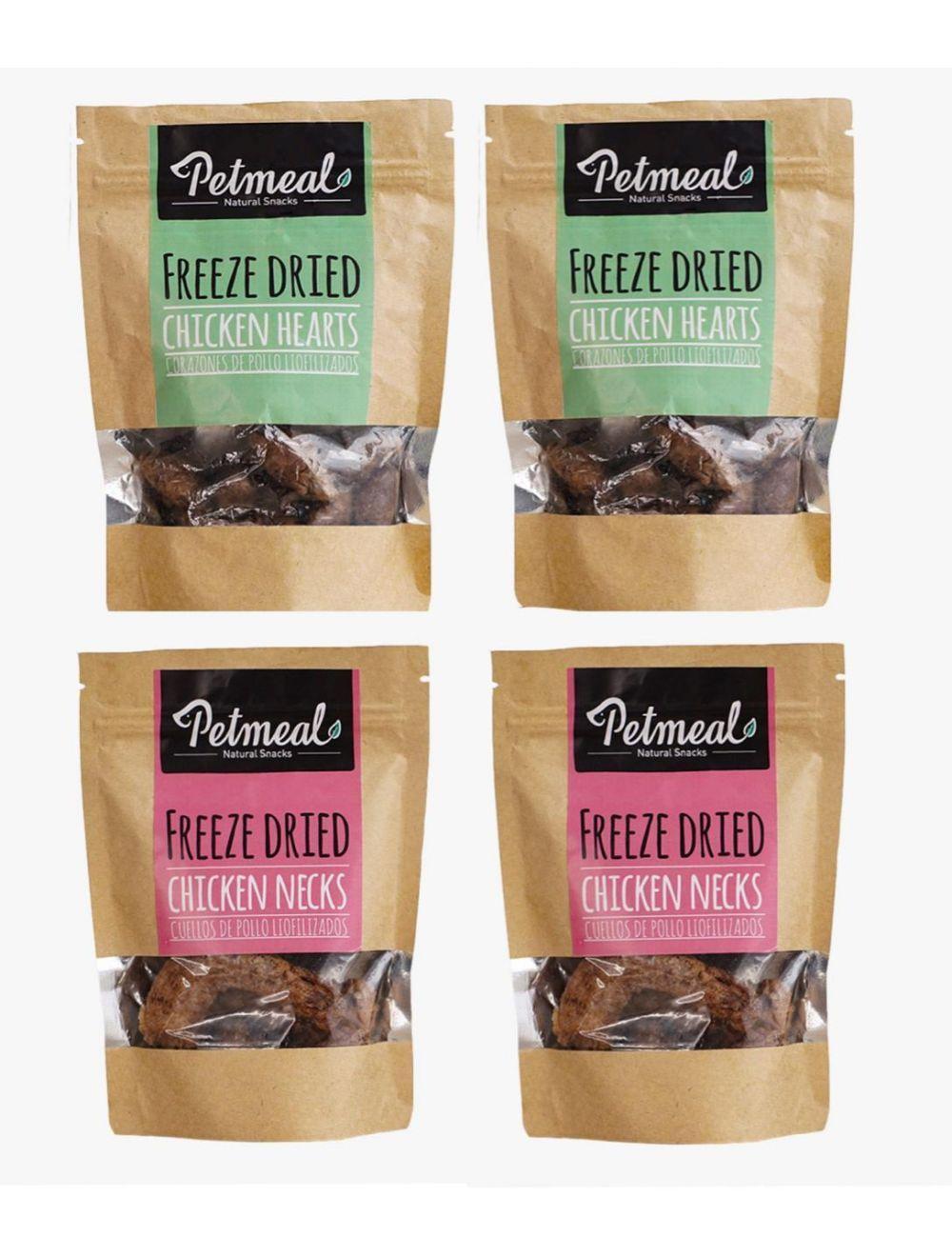 Petmeal Natural Snacks Surtidos Combo x 4