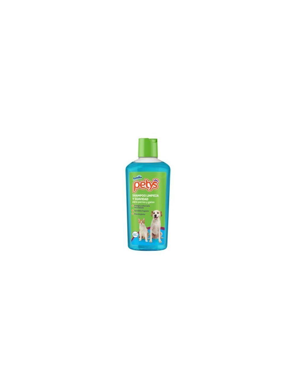Shampoo limpieza y suavidad petys x 235 ml - Ciudaddemascotas.com