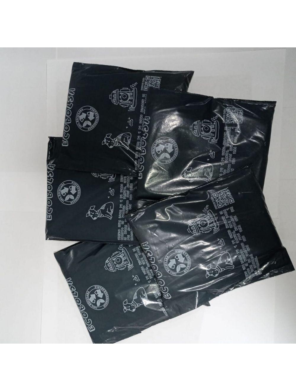 Bolsas Biodegradables Estampadas x 5 Rollos Small+ portabolsas - Ciudaddemascotas.com