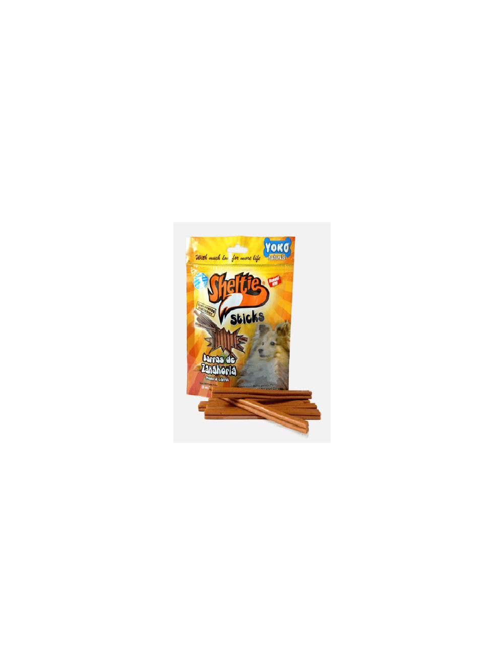 Snacks Sheltie Sticks Barras de Zanahoria - ciudaddemascotas.com
