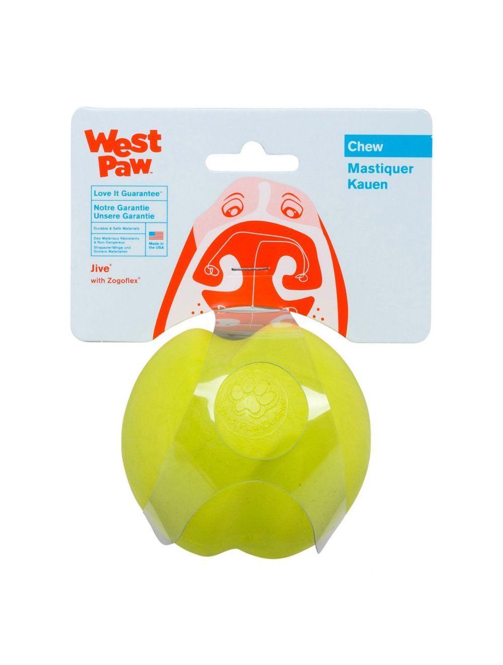 West Paw Jive Ultra Resistente Large Verde