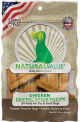 Natural Value Chicken Flavor Dental Sticks X 85 Gr