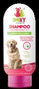 Dinky shampoo para perros pelaje claro x 30 ml