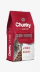 Chunky Gatos Salmon y Cordero x 8 Kg