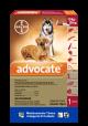 Advocate pipeta para perros de 10 kg hasta 25 kg x2.5ml