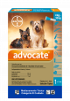 Advocate Pipeta para Perros de 4 kg hasta 10 kg