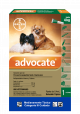 Advocate Pipeta para Perros hasta 4 kg