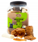 Three Pets - Bomboneta Trocitos Mix 620 gr x 50 Und