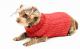 Saco Cody para Perros Rojo S