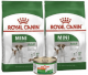 Royal Canin Mini Adulto 2 Kg x 2 + lata gratis