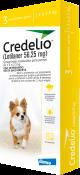 Credelio Para Perro 1,3 A 2,5 Kg X 3 Tabletas