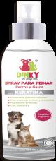Dinky Spray Para Peinar Mascotas con Keratina x 250 ml