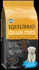 Equilibrio Perro Cachorro Miniatura Grain Free x 1.5 Kg