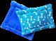 Cojín Colchoneta  Azul / huesos azules talla S