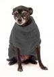 Saco Libby para Perros Gris Oscuro S