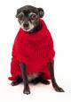 Saco Libby para Perros Rojo S
