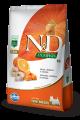 N&D Pumpkin Adult Mini Peixe 2.5 Kg