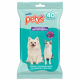 Pañitos Petys antibacterial con Clorhexidina x 40 unidades