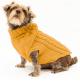 Saco Parker Para Perros Amarillo Xl