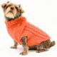 Saco Parker para Perros Naranja M