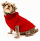Saco Parker para Perros Rojo L