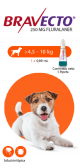 Bravecto Para Perro Spot On 4.5 - 10 Kg + Obsequio Gratis