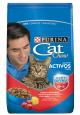 Purina Cat Chow Para Gatos Adultos Activos Carne (1.5 Kg)