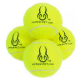 Hyper Pet Set Pelotas Verdes x 4 Mini
