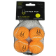 Hyper Pet Set Pelotas Naranjas x 4 Medium