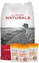 Diamond Naturals Combo Cordero y Arroz (18,1 Kg) + TriPack Happy Tails