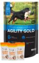 Agility Gold Combo Adultos Razas Grandes x 15 Kg + TriPack Happy Tails