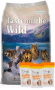 Taste Of The Wild Combo Wetlands Canine 12.7 Kg + TriPack Happy Tails