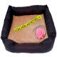 Cama sofa con colchon antiestres Gloopet talla M gris