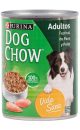 Six Pack Dog Chow Pavo y Pollo 374 g en Lata