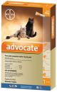 Advocate Pipeta para Gatos Pequeños hasta 4 kg de peso