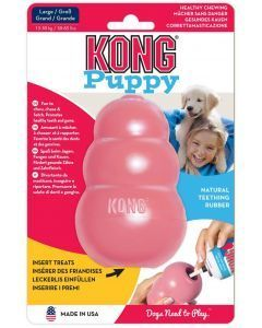 Kong puppy large mordedero para perros