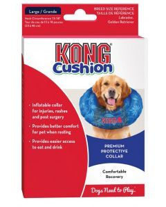 Kong Collar De Recuperacion Inflable Cushion