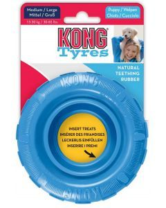 Kong perro caucho puppy llanta