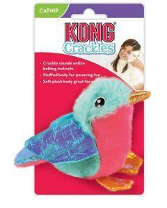 Kong Gato Peluche Crackles Tweetz Pájaro
