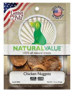 NATURAL VALUE Chicken Nugget Recipe X 42.5 GR