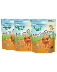 Snacks para gatos Emerald pet  Dental Pollo-Ciudaddemascotas.com