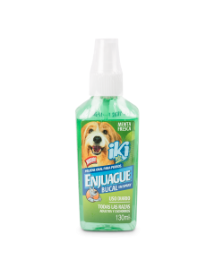 Iki Pets Enjuague Bucal Perro 130 ml