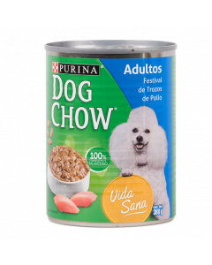 Six Pack Dog Chow Festival de Pollo 368 g lata