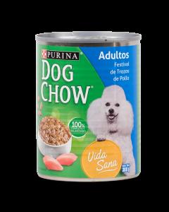 Comida Lata Dog Chow Pollo Verduritas 375g - Ciudaddemascotas.com