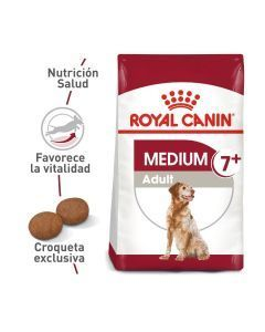 Royal Canin Size Health Nutrition Medium Adult 7+ 4 Kg - Ciudaddemascotas.com