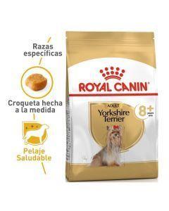 Comida ROYAL CANIN YORKSHIRE 8+ 1.13KG - ciudaddemascotas.com