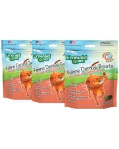 Emerald Pet Snack Para Gatos Dental Salmon Combo X3Und