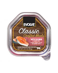 Comida EVOLVE Classic Pote Crafted Salmon - Ciudaddemascotas.com