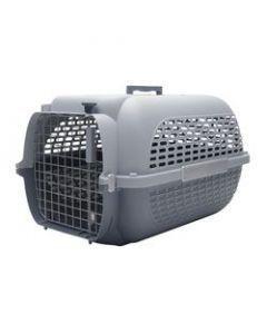 Guacal Hagen Gris Talla M Para Perros y Gatos - ciudaddemascotas.com