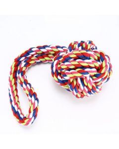 Juguete Para Morder Y Halar tejido en tela resistente para perros - Ciudaddemascotas.com